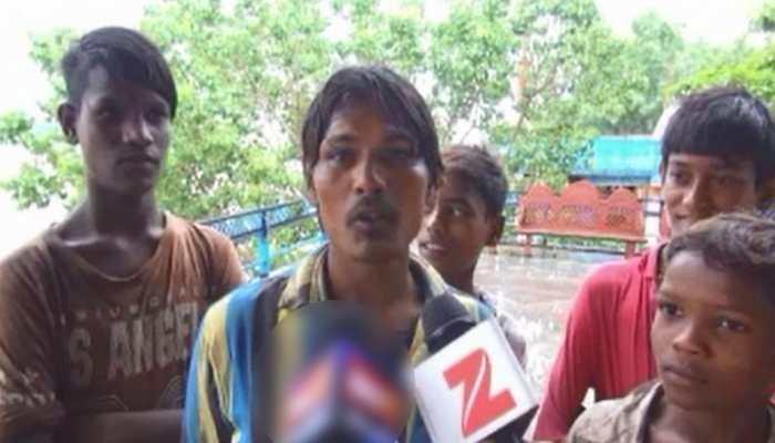 मप्र: महिला ने नर्मदा नदी में लगाई छलांग, 5 बच्चों ने मिलकर बचा ली जान