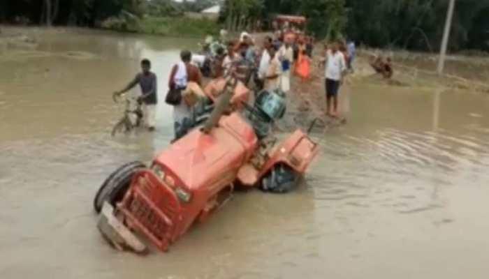 बिहार: मानसून आते ही हाल बेहाल, कटाव और बांध टूटने से लोग परेशान