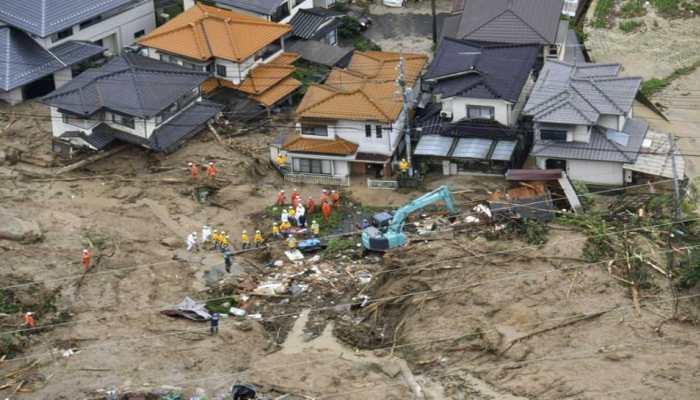 जापान में बाढ़ और बारिश बनी परेशानी, 8 लोगों की मौत 50 लापता