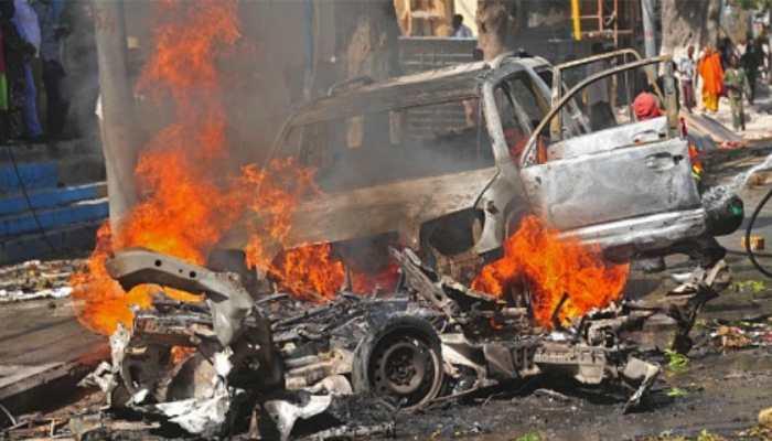 पुलिस की सुरक्षा पाने के लिए हिंदुत्ववादी नेता ने अपनी ही गाड़ी पर करवाया बम से हमला