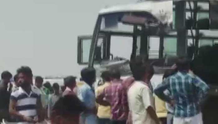अजमेर के पास सवारियों से भरी बस और डंपर की भिड़ंत, 12 लोगों की दर्दनाक मौत