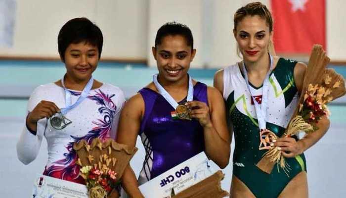 दीपा कर्मकार ने तुर्की में जिम्नास्टिक्स विश्व कप में जीता गोल्ड, पीएम मोदी ने दी बधाई