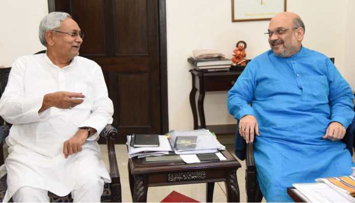 अमित शाह-नीतीश कुमार डिनर पर तय करेंगे बिहार में सीट शेयरिंग का फॉर्मूला!