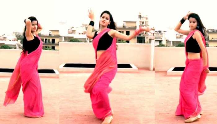 'दिलबर' गाने की धमाकेदार बीट्स पर इस लड़की ने छत पर किया डांस, Viral हुआ Video