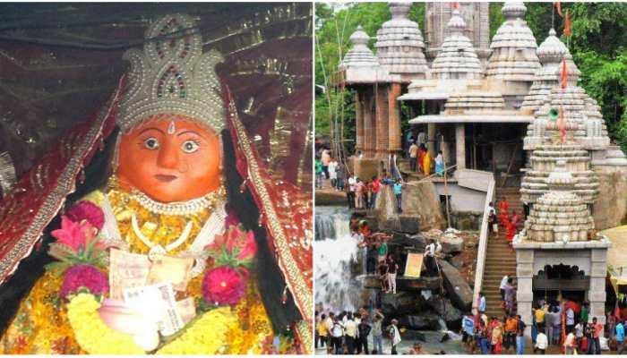 famous temple of jatmai ghatarani gariyaband Chhattisgrah