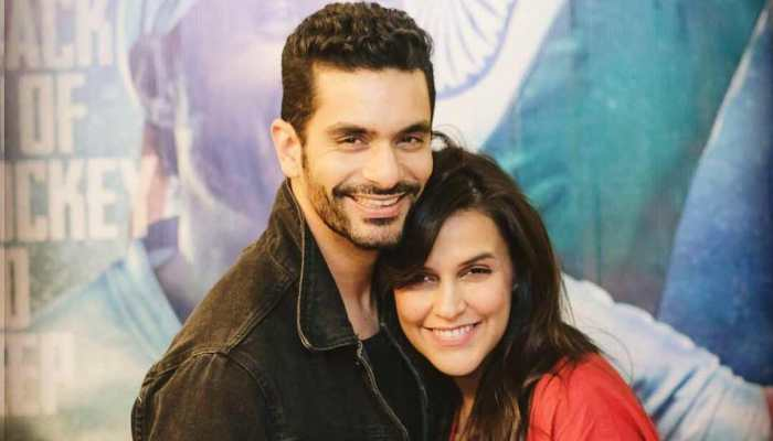 Angad as an actor is confident and  trustworthy: Neha Dhupia