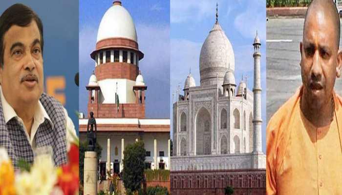 ताजमहल मुद्दे पर गडकरी ने कल दिल्ली में बुलाई उच्चस्तरीय बैठक, CM योगी भी होंगे शामिल