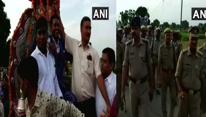 यूपी: 150 पुलिसकर्मियों की सुरक्षा में ये दलित दूल्हा बारात लेकर निकला, जानें क्यों ?