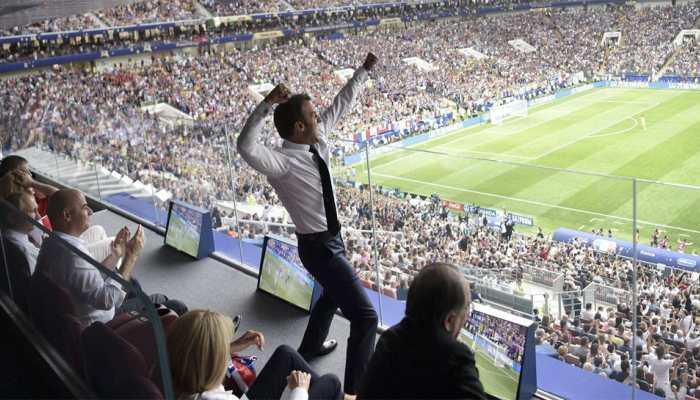 FIFA World Cup 2018 : Croatian President Kolinda Grabar-Kitarovic, French President Emmanuel Macron wins hearts