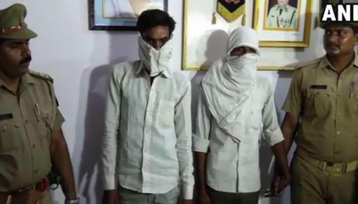 संभल में महिला को गैंगरेप के बाद जिंदा जलाने के मामले में दो आरोपी गिरफ्तार