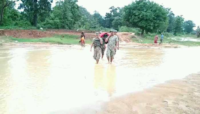 life saving endeavour by ITBP in Chhattisgarh