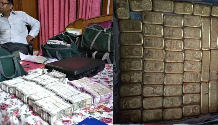 लखनऊ: आयकर विभाग की बड़ी RAID, बरामद किया 50 किलो सोना, 10 करोड़ कैश