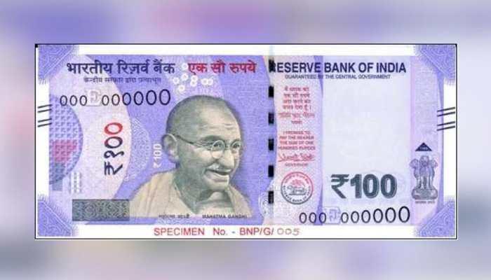 New Rs 100 Note In Lavender Features Gujarat's 'Rani Ki Vav'