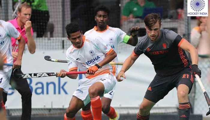 भारतीय जूनियर पुरुष हॉकी टीम ने नीदरलैंड से 2-2 से ड्रॉ खेला