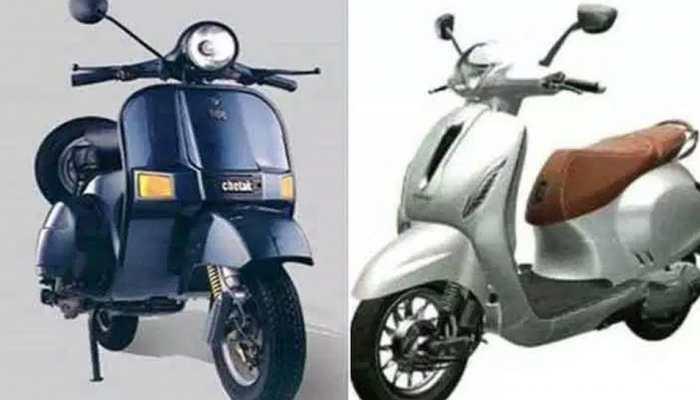 Bajaj Chetak Scooter To Make A Comeback, Photos Leak, Launch Details Revealed