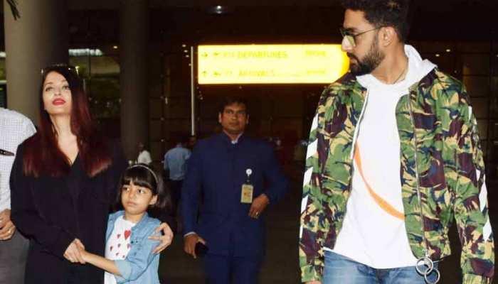 VIDEO की खबर पर अभिषेक बच्चन का रिएक्शन, ऐश्वर्या के साथ झगड़े की खबर को बताया गलत