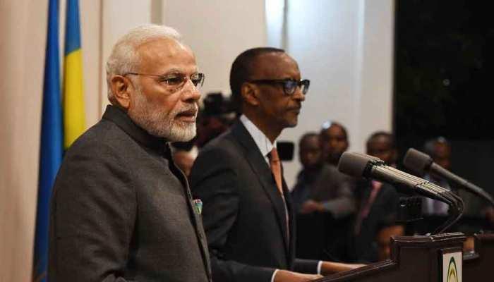 रवांडा में बोले PM मोदी, 'पूरी दुनिया पर अपनी छाप छोड़ रहे हैं भारतवंशी'