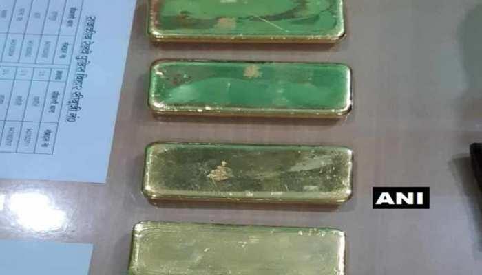 चंदौली: दुरंतो एक्सप्रेस में GRP ने बरामद किया 6 किलो सोना, एक तस्कर गिरफ्तार