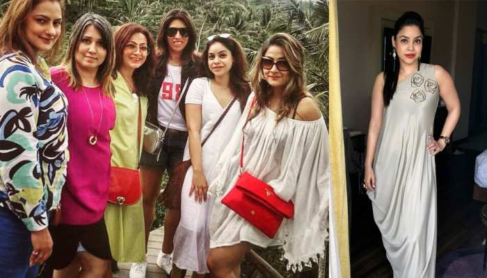 sumona chakravarti spending holidays with her friends in bali