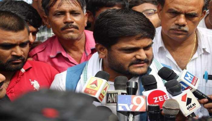 दो साल की सजा सुनाए जाने पर बोले हार्दिक,'BJP की हिटलरशाही सत्ता मुझे दबा नहीं सकती'
