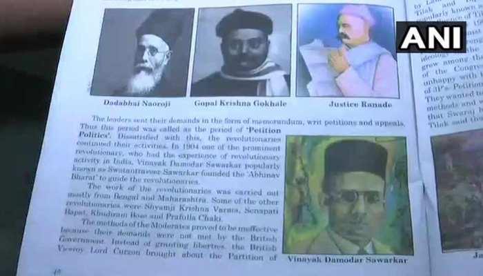 गोवा में 10वीं की इतिहास पुस्तक में नेहरू की जगह सावरकर, NSUI ने जताई आपत्ति