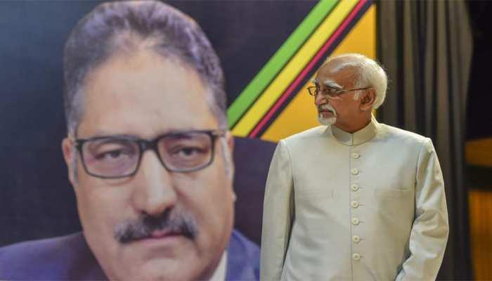 पत्रकार शुजात बुखारी की हत्या पर शोक जाहिर करना 'काफी नहीं' : पूर्व उपराष्ट्रपति हामिद अंसारी