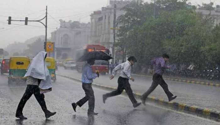दिल्ली-NCR में तेज बारिश, इन राज्यों में भी भारी बारिश का अलर्ट