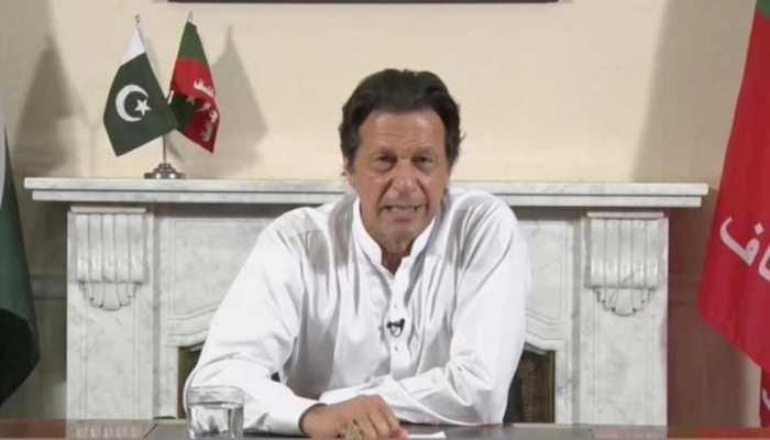 इमरान खान ने कहा- 'मैं पाकिस्तान को मदीना की तरह बनाना चाहता हूं'