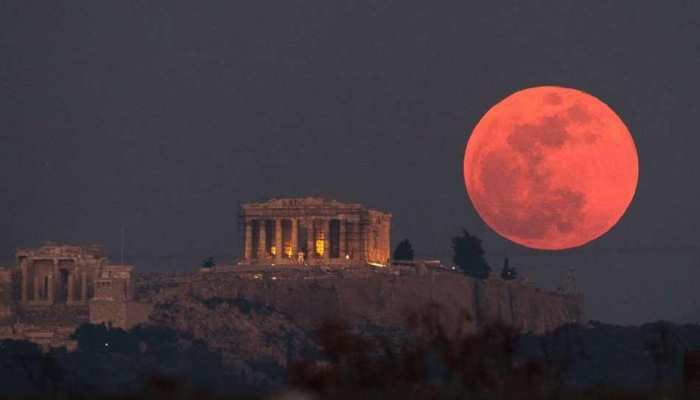 Chandra Grahan will see in mid night in India know why it happens lunar eclipse 2018