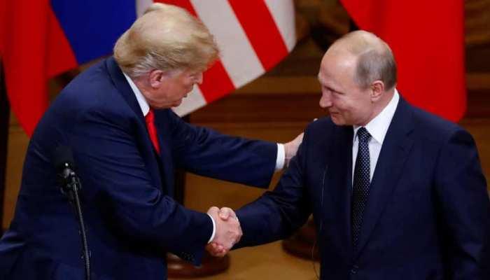 अमेरिका के वार्ता की तिथि आगे बढ़ाने के बाद पुतिन ने ट्रंप को किया आमंत्रित