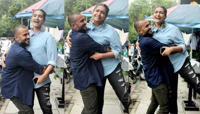 Anand Ahuja opens New Stor in wife Sonam Kapoor Hometown Mumbai
