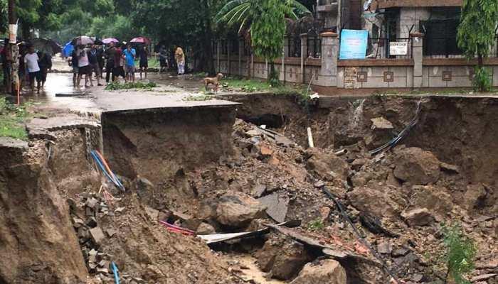 बारिश का कहर : उत्तर प्रदेश में 2 दिन में 58 लोगों की मौत, 53 घायल