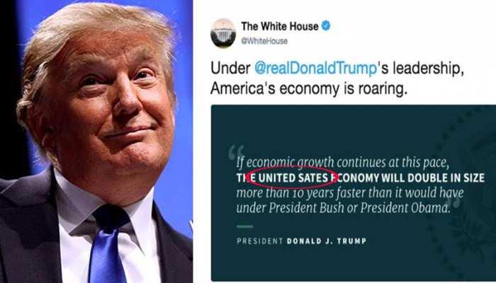 Trump administration makes typo again, misspells 'United Sates'