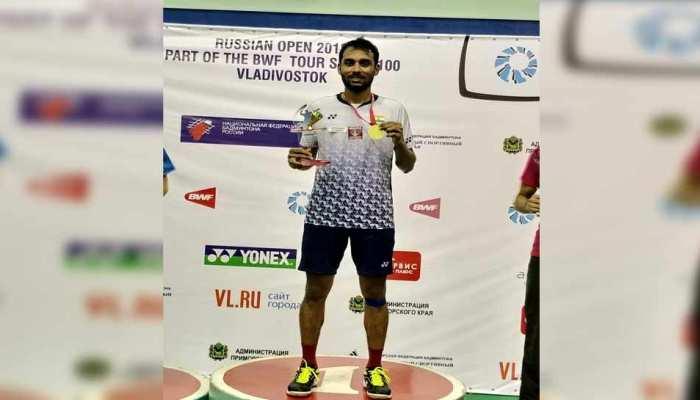 एक घंटे के कड़े मुकाबले के बाद इस भारतीय शटलर ने जीता रूस ओपन का खिताब