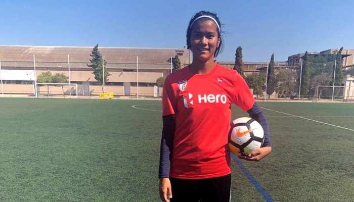 मैंने डिफेंडर के तौर पर की थी अपने करियर की शुरुआत: फुटबॉलर चानू