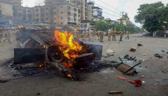 India Today: Maratha Agitation in maharashtra, 150 bused damaged in chakan