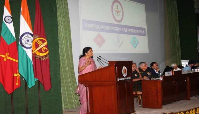 रक्षा मंत्री निर्मला सीतारमण ने कहा, सुरक्षा तैयारियां NDA सरकार की शीर्ष प्राथमिकता