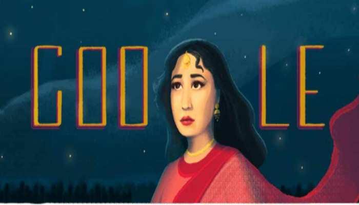 जन्मदिन विशेष : 'ट्रेजिडी क्वीन' मीना कुमारी को Google ने Doodle बनाकर किया याद