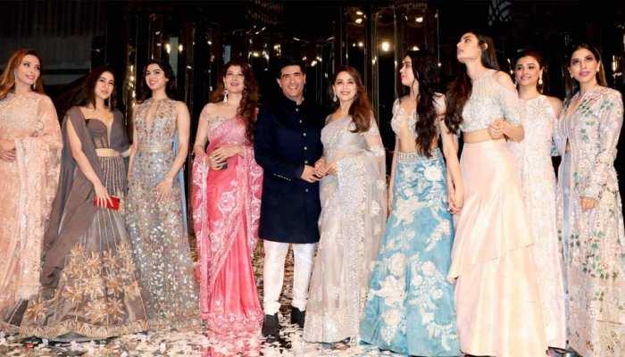 Sara ali khan, janhvi and khushi kapoor are for Manish Malhotra show