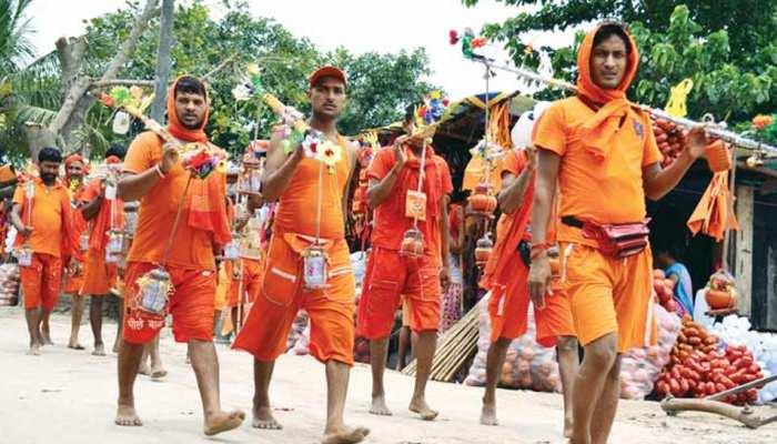 देवघर : कांवड़ यात्रा के दौरान साधु का जीवन जीते हैं कांवरिए, जानें पूरी कहानी