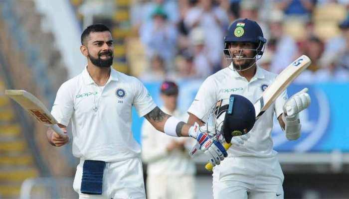 शमी, ईशांत और उमेश यादव ने जब तक बनाए 8 रन, उतने समय में विराट ने जड़े 99 रन