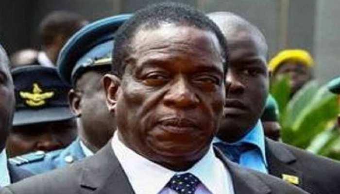 जिम्बॉब्वे : राष्ट्रपति घोषित होने के बाद मनांगाग्वा ने कहा, 'यह साथ मिलकर काम करने का वक्त है'