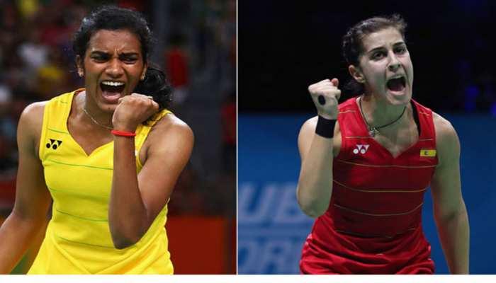 World Badminton Championship: PV Sindhu to meet Carolina Marin in final again after Rio Olympic