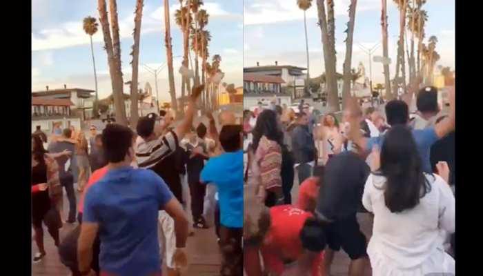 VIDEO: पंजाबियों ने डांस करते हुए उड़ाए नोट, लूटने लगे अंग्रेज, सोशल मीडिया पर वायरल