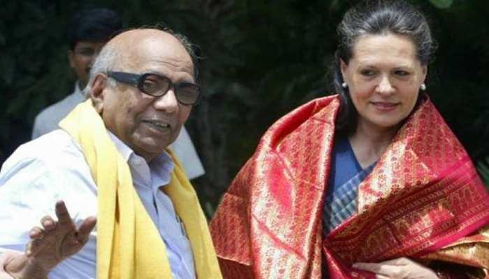 करुणानिधि मेरे लिए पिता समान थे : सोनिया गांधी ने एमके स्टालिन को लिखा पत्र