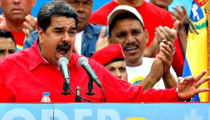 वेनेजुएला के राष्ट्रपति ने ड्रोन हमले के लिए विपक्षी नेताओं को जिम्मेदार ठहराया