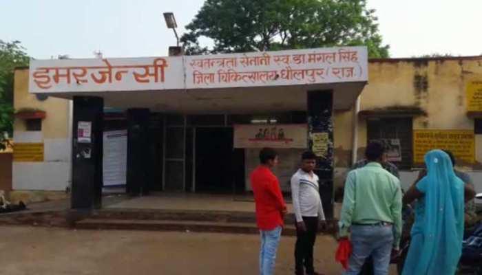 धौलपुर: अज्ञात वाहन ने कांवड़ियों को मारी टक्कर, दो की मौत, दो घायल