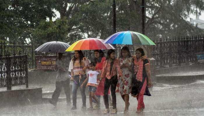 हिमाचल प्रदेश में कहीं हल्की, कहीं मध्यम बारिश