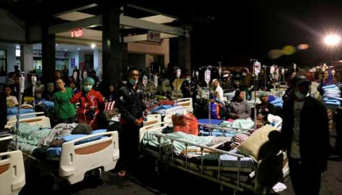 इंडोनेशिया में भूकंप से मरने वालों की संख्या 400 के पार पहुंची