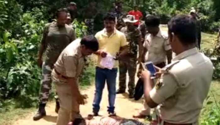 जमुईः नक्सलियों ने हत्या कर शव के नीचे किया था बम प्लांट, 6 पुलिसकर्मी घायल